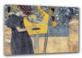 Klimt, Gustav: Music (Die Musik). Fine Art Canvas. Sizes: A3/A2/A1 (00123)